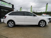 USED 2014 64 SKODA RAPID 1.6 SPACEBACK SE TDI CR 5d 104 BHP PANORAMIC ROOF, AIR CON ALLOYS, PARKING SENSORS, FULL SERVICE HISTORY, SPARE KEY