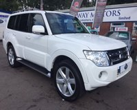 USED 2014 14 MITSUBISHI SHOGUN 3.2 DI-D SG4 5d AUTO 197 BHP 0% AVAILABLE ON THIS CAR PLEASE CALL 01204 317705