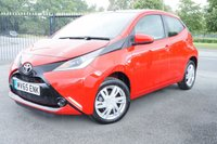 USED 2015 65 TOYOTA AYGO 1.0 VVT-I X-PLAY 5d 69 BHP 1 Owner Very Low Mileage