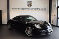 USED 2008 08 PORSCHE CAYMAN 3.4 24V S DESIGN EDITION 1 2d 295 BHP + FULL BLACK LEATHER INTERIOR + FULL PORSCHE SERVICE HISTORY + SATELLITE NAVIGATION + BLUETOOTH + HEATED SPORT SEATS + BOSE SPEAKER SYSTEM + PARKING SENSORS + 19 INCH ALLOY WHEELS +