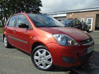 USED 2006 06 FORD FIESTA 1.4 STYLE 16V 5d 80 BHP ONLY 2 FORMER KEEPER+MOT JUNE 2018