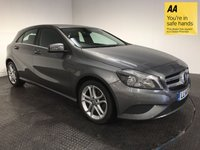 USED 2014 14 MERCEDES-BENZ A CLASS 2.1 A200 CDI SPORT 5d AUTO 136 BHP FSH-LEATHER-BLUETOOTH-ALLOYS-A/C