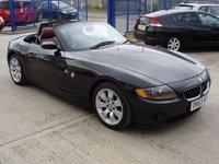 USED 2004 BMW Z4 2.2 Z4 SE ROADSTER 2d 168 BHP