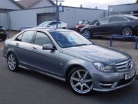 2012 MERCEDES-BENZ C CLASS 2.1 C200 CDI BLUEEFFICIENCY SPORT 4d AUTO 135 BHP £12977.00