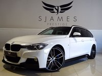 USED 2014 14 BMW 3 SERIES 3.0 330D XDRIVE M SPORT TOURING 5d AUTO 255 BHP