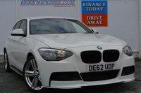 USED 2012 62 BMW 1 SERIES 1.6 116I M SPORT 5d 135 BHP **LOW MILEAGE**