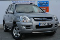 USED 2006 55 KIA SPORTAGE 2.0 XS CRDI 5d 111 BHP AIR CONDITIONING