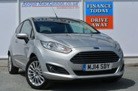 USED 2014 14 FORD FIESTA 1.6 TITANIUM 3d AUTO 104 BHP FRONT HEATED SEATS