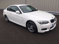 USED 2010 60 BMW 3 SERIES 3.0 330I M SPORT AUTO 269 BHP PETROL COUPE VERY HIGH SPECIFICATION, FSH, STUNNING!