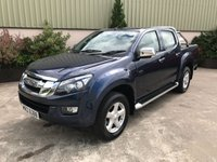USED 2014 ISUZU D-MAX 2.5 TD YUKON DCB 1d 164 BHP LOW MILEAGE, ROLLER SHUTTER, ROLL BAR, 4 NEW TYRES