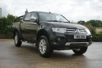 USED 2015 15 MITSUBISHI L200 2.5 DI-D 4X4 CHALLENGER LB DCB 1d 175 BHP ROLLER SHUTTER, ROLL BAR, ALLOYS, PRIVACY GLASS, LOW MILES