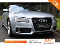 USED 2009 09 AUDI A5 3.0 TDI QUATTRO S LINE 3d 240 BHP A STUNNING MANUAL A5 3L DIESEL WITH A FULL HISTORY AND BLACK LEATHER!!!