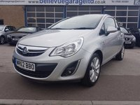 USED 2012 62 VAUXHALL CORSA 1.2 ACTIVE AC 3d 83 BHP GREAT VALUE FAMILY HATCH