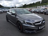 USED 2014 14 MERCEDES-BENZ A CLASS 2.0 A45 AMG 4MATIC 5d 360 BHP Under 9,000 miles, Sat Nav, 19 inch alloys, heated seats +