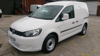 USED 2012 12 VOLKSWAGEN CADDY 1.6 C20 TDI 102 5d 101 BHP 1 OWNER F/S/H