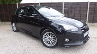 USED 2013 13 FORD FOCUS 1.6 ZETEC S TDCI 5dr £20/yr Tax, 1 Owner