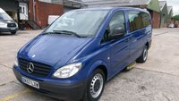 2007 MERCEDES-BENZ VITO 2.1 111 CDI LONG TRAVELINER SWB 1d 109 BHP 1 OWNER F/S/H £5995.00