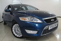 USED 2008 08 FORD MONDEO 2.0 TITANIUM X TDCI 5DR 140 BHP FORD SERVICE HISTORY + HEATED HALF LEATHER SEATS + BLUETOOTH + CRUISE CONTROL + MULTI FUNCTION WHEEL + 17 INCH ALLOY WHEELS