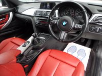 USED 2014 14 BMW 3 SERIES 2.0 320D M SPORT TOURING 181 BHP ** SAT NAV * RED LEATHER ** ** 1 OWNER * F/S/H * SAT NAV * RED LEATHER **