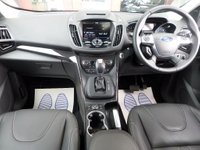 USED 2015 65 FORD KUGA 2.0 TITANIUM X SPORT TDCI  AUTO 177 BHP ** HUGE SPEC ** ** SAT NAV * PAN ROOF * ACTIVE PARK ASSIST * CAMERA **