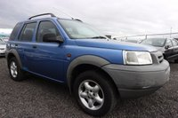 USED 2001 LAND ROVER FREELANDER 2.5 V6I ES STATION WAGON 5d 175 BHP NOT AVAILABLE ON FINANCE.