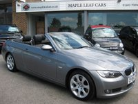 USED 2008 08 BMW 3 SERIES 3.0 325I SE 2d AUTO 215 BHP Low Mileage BMW 325i Petrol Convertible Bluetooth Automatic