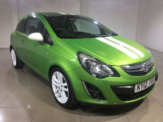 View our 2012 12 VAUXHALL CORSA 1.2 SXI AC S/S 3d 83 BHP