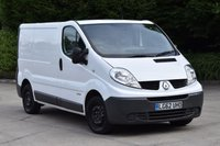 USED 2012 62 RENAULT TRAFIC 2.0 SL27 DCI S/R 5d 115 BHP SWB FWD AIR CON DIESEL PANEL MANUAL VAN LOVELY DRIVE LOTS OF SPEC ECO DRIVE
