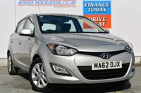 USED 2012 62 HYUNDAI I20 1.2 ACTIVE 5d 84 BHP IMMACULATE CONDITION