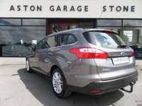 USED 2012 62 FORD FOCUS 2.0 TITANIUM TDCI ESTATE AUTO 139 BHP ** FULL FORD SERVICE HISTORY ** ** F/F/S/H * CRUISE * DAB **