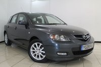USED 2009 09 MAZDA 3 1.6 TAKARA 5DR 105 BHP MAZDA SERVICE HISTORY + MULTI FUNCTION WHEEL + RADIO/CD + AIR CONDITIONING + 16 INCH ALLOY WHEELS