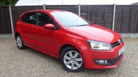 USED 2012 12 VOLKSWAGEN POLO 1.4 MATCH 5dr Air Con, Alloys, FVWSH
