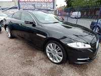 USED 2012 12 JAGUAR XJ 3.0 D V6 PORTFOLIO 4d AUTO 275 BHP MASSIVE SPEC CAR, PANROOF,SAT NAV, REAR CAMERA,HEATED SEATS,F.S.H, RECENT CAMBELT