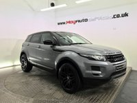 USED 2014 14 LAND ROVER RANGE ROVER EVOQUE 2.2 SD4 PURE 5d AUTO 190 BHP *** BLACK PACK & PANORAMIC ROOF ***