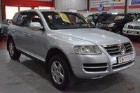 2006 VOLKSWAGEN TOUAREG 2.5 TDI TOUREG ESTATE AUTO SILVER £4985.00