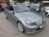 USED 2011 11 MERCEDES-BENZ C CLASS 2.1 C220 CDI AUTOMATIC SPORT 4d 168 BHP LOW MILES