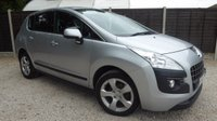 USED 2012 62 PEUGEOT 3008 1.6 ACTIVE E-HDI FAP 5dr AUTO Bluetooth, Cruise, PDC