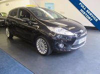 USED 2011 61 FORD FIESTA 1.4 TITANIUM 5d AUTO 96 BHP 1 PREVIOUS OWNER, FULL SERVICE HISTORY, LOW TAX AND INSURANCE