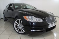 USED 2009 59 JAGUAR XF 3.0 V6 S PREMIUM LUXURY 4DR 275 BHP FULL SERVICE HISTORY + LEATHER SEATS + REVERSE CAMERA + SAT NAVIGATION + BLUETOOTH + CRUISE CONTROL + 20 INCH ALLOY WHEELS