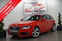 2010 AUDI A4 2.0 AVANT TDI S LINE 5door  in red  £8990.00