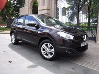 USED 2012 62 NISSAN QASHQAI 1.6 ACENTA 5d 117 BHP ****FINANCE ARRANGED***PART EXCHANGE***BLUETOOTH**ELECTRIC FOLDING MIRRORS**4 SERVICE STAMPS***