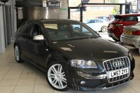 USED 2008 57 AUDI S3 2.0 TFSI QUATTRO 3d 262 BHP FULL BLACK LEATHER SEATS + FULL SERVICE HISTORY + SAT NAV + HEATED SEATS + RECENT TIMING BELT CHANGE + 18 INCH ALLOYS + XENON HEADLIGHTS