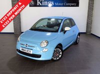 USED 2014 14 FIAT 500 1.2 COLOUR THERAPY 3dr