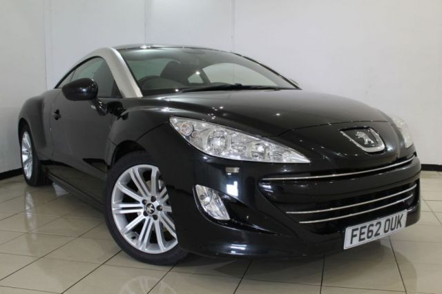 View our 2012 62 PEUGEOT RCZ 2.0 HDI SPORT 2DR 163 BHP