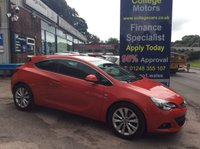 USED 2014 14 VAUXHALL ASTRA 2.0 GTC SRI CDTI 3d AUTO 162 BHP, only 50000 miles *****FINANCE AVAILABLE APPLY ONLINE******