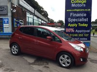 USED 2014 14 KIA VENGA 1.6 CRDI 3 ECODYNAMICS 5d 114 BHP, only 21000 miles ****VEHICLE DUE IN AUGUST 14TH****
