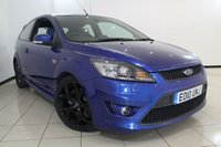 USED 2010 10 FORD FOCUS 2.5 ST-2 3DR 223 BHP RECARO SPORT SEATS + AIR CONDITIONING + RADIO/CD + ELECTRIC WINDOWS + 18 INCH ALLOY WHEELS