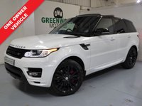 2014 LAND ROVER RANGE ROVER SPORT 3.0 SD V6 Autobiography Dynamic Station Wagon 4x4 5dr (start/stop) £54994.00