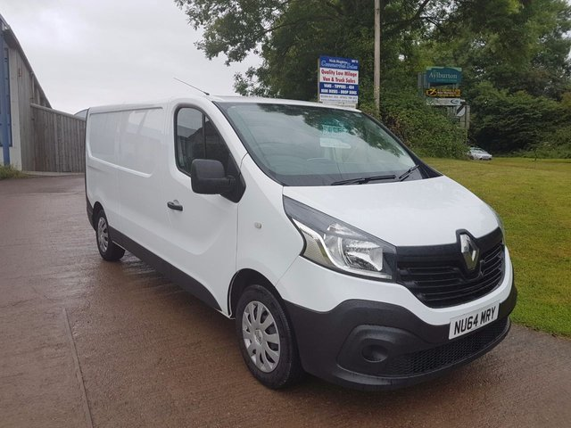 2014 64 RENAULT TRAFIC 1.6 LL29 BUSINESS DCI S/R P/V 1d 115 BHP