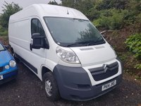 2014 CITROEN RELAY 2.2 35 L3H2 HDI 1d 129 BHP £SOLD